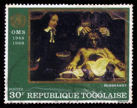 TUVALU CIRCA 2006: Eine Briefmarke In Tuvalu Gedruckt Zeigt ...
