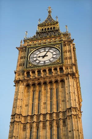 most famous symbol of London, Big Ben Clock Tower   Elizabeth Tower  , Westminster Palace, United Kingdom photo
