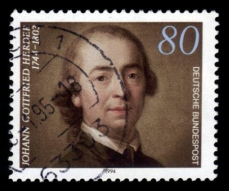 theologian: Johann Gottfried Herder, german philosopher, theologian