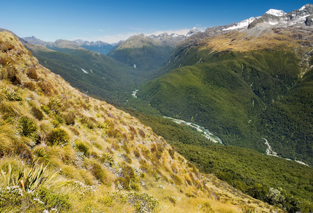 Milford Track, fabulous scenery in New Zealand photo