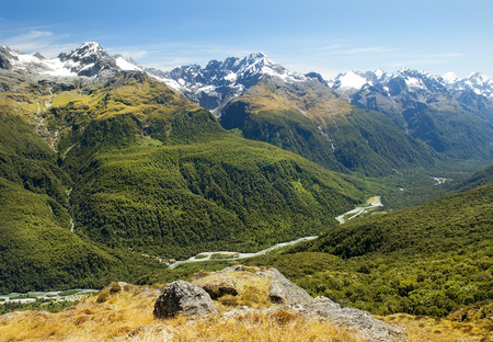 Milford Track, fabulous scenery in New Zealand