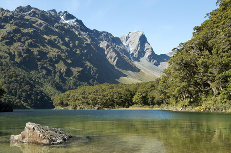 Routeburn track, fabulous scenery in New Zealand