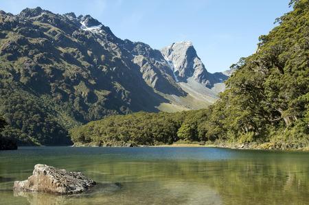 mackinnon: Routeburn track, fabulous scenery in New Zealand