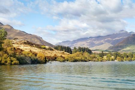 Routeburn track, fabulous scenery in New Zealand photo