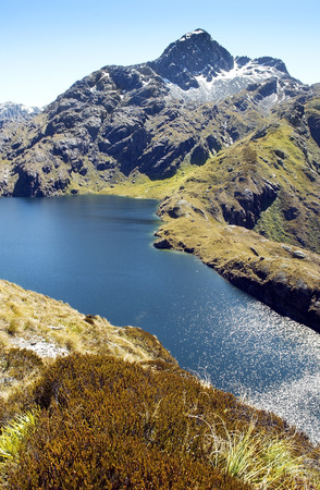 routeburn track,magnificent fabulous scenery in New Zealand