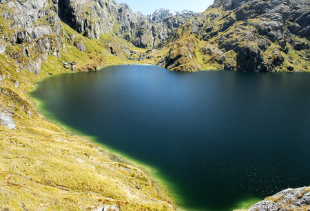 routeburn track,magnificent fabulous scenery in New Zealand photo