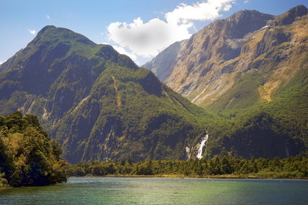 mackinnon: untouched nature of national parks of New Zealand Stock Photo