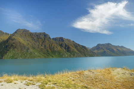 untouched nature of national parks of New Zealand Stock Photo