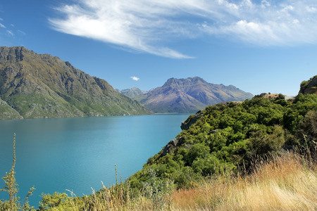 untouched nature of national parks of New Zealand photo