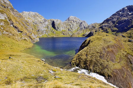 magnificent scenery of nature reserves in New Zealand photo