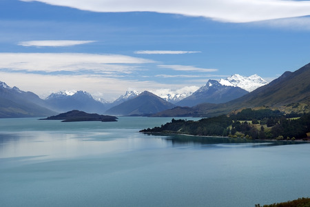 magnificent scenery of nature reserves in New Zealand Stock Photo