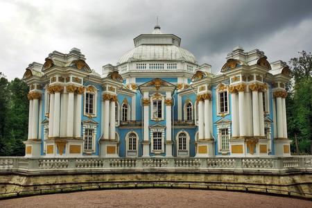 bartolomeo rastrelli: Pavilion \Hermitage\, architects M. Zemtsov, F. Rastrelli, Catherine Park,Tsarskoye Selo (Pushkin), Russia