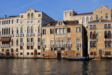 nuove: ITALY, VENICE - November 20: gorgeous cityscapes of Venice - Mistress of the Adriatic, pearl of Italy  on November 20, 2014 in Venice