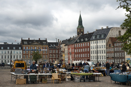 tr�delmarkt: Flohmarkt in Kopenhagen