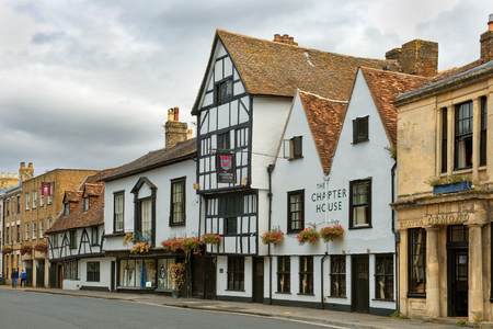 SALISBURY, UNITED KINGDOM -  August 03, 2015: hotel Chapter House on August 03, 2015 in Salisbury, South England, 4-star inn is within close proximity of Old Sarum and Wilton House, 17 guestrooms