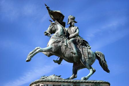 archduke: equestrian monument of Archduke Charles, Vienna, Austria