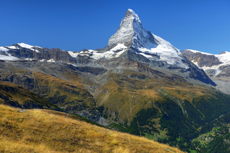 swiss alps: gorgeous summer landscape in the Swiss Alps