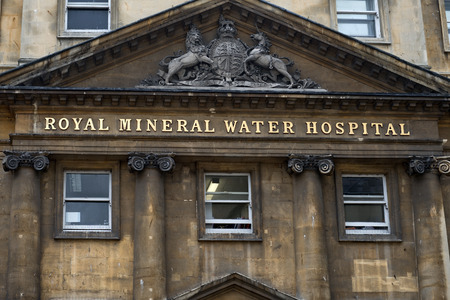 somerset: Mineral Water Hospital, Bath, Somerset, England