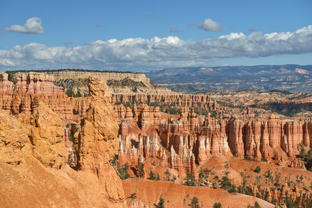 rock formation: Bryce Canyon National Park, nature reserve  in southwestern Utah in the United States, unique geologic formation and spire-shaped rock formations
