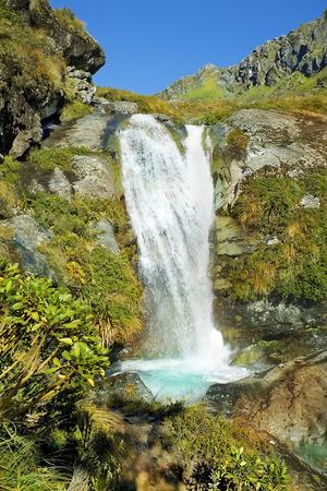 mackinnon: fabulous landscape in New Zealand Stock Photo