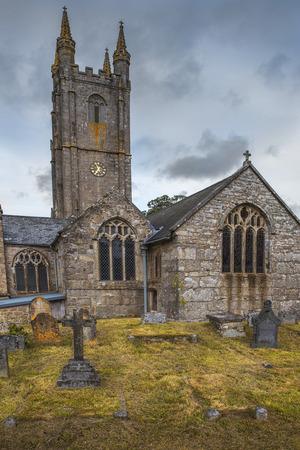 parish: St. Ives Parish Church and old cemetery, Cornwall, England