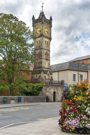nicknamed: fisherton street clock tower, nicknamed Little Ben, Salisbury, Wiltshire, England