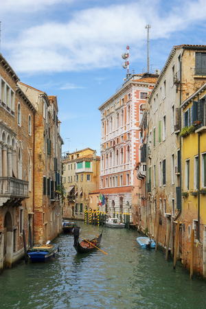 herrin: romantic urban landscape of old Venice - Mistress of the Adriatic Lizenzfreie Bilder