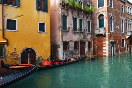 picturesque places of romantic Venice, Italy
