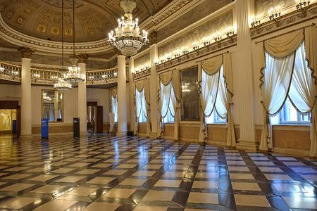nuove: ballroom in the Museum Correr in Venice, Italia