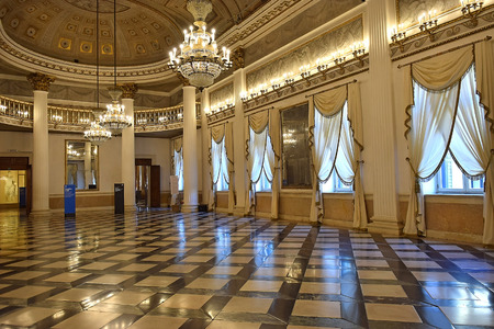 ballroom in the Museum Correr in Venice, Italia