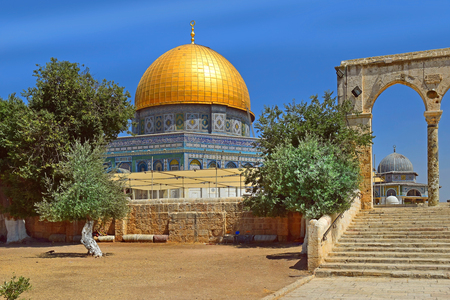 Dome of the Rock at Temple Mount, Jerusalem