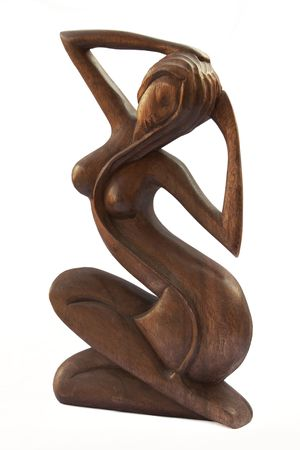 wood figurine: Wooden Figurine
