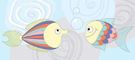 fish vector Vector