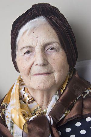 A snapshot of my grandmother celebrating her 89th birthday! photo