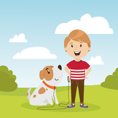 large set of childrens characters of people. school pupils, fun jump, vector Ilustracja