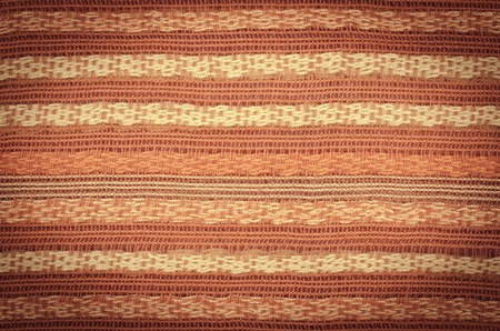 orange texture: Colorful knitted fabric texture, for abstract background, orange Stock Photo