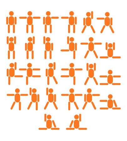 more similar images: Sports people symbols