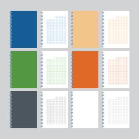 record office: Notebook Illustration