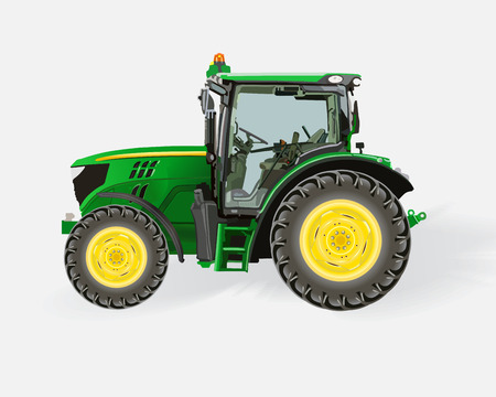 plow: Tractor Illustration