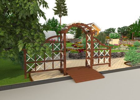 grass plot: Landscape architecture and design in your garden
