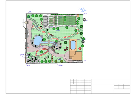 architect: Landscape architect design traditional chinese garden plan.