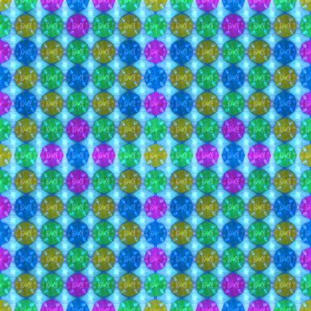 ardent: 3D pattern - 3D illustration of a glass pattern Stock Photo