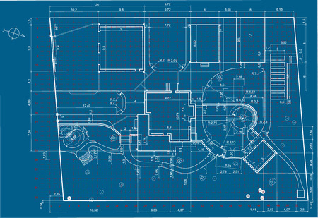 Architectural backgroundurban blueprintndscape design section urban blueprintndscape design section stock photo 62817939 malvernweather Images