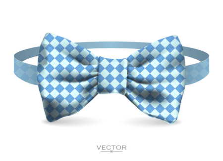 Realistic bow tie illustration