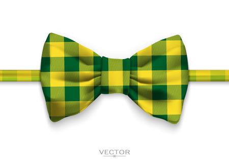 Realistic bow tie illustration