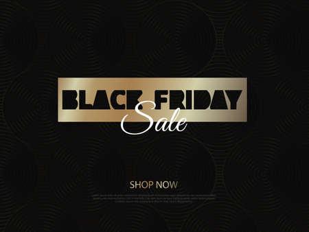 Black Friday. Sale. Super friday sale logo for banner, web, header and flyer. Illustration