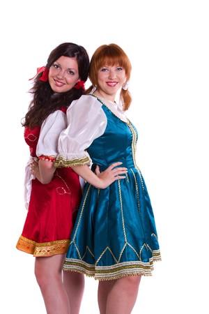 Two GermanBavarian women photo