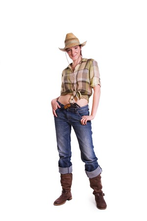 Cowgirl photo