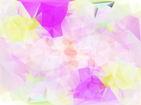 Vector illustration. Abstract polygonal background. A geometric chaotic drawing. For use in graphic design, for brochures, wallpapers for a phone, website. Illustration
