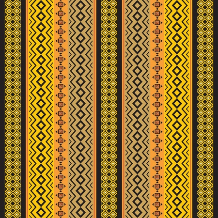 Abstract ethnic african traditional ornamental seamless texture Vector